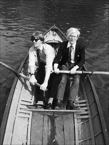 Christopher Makos and Andy Warhol